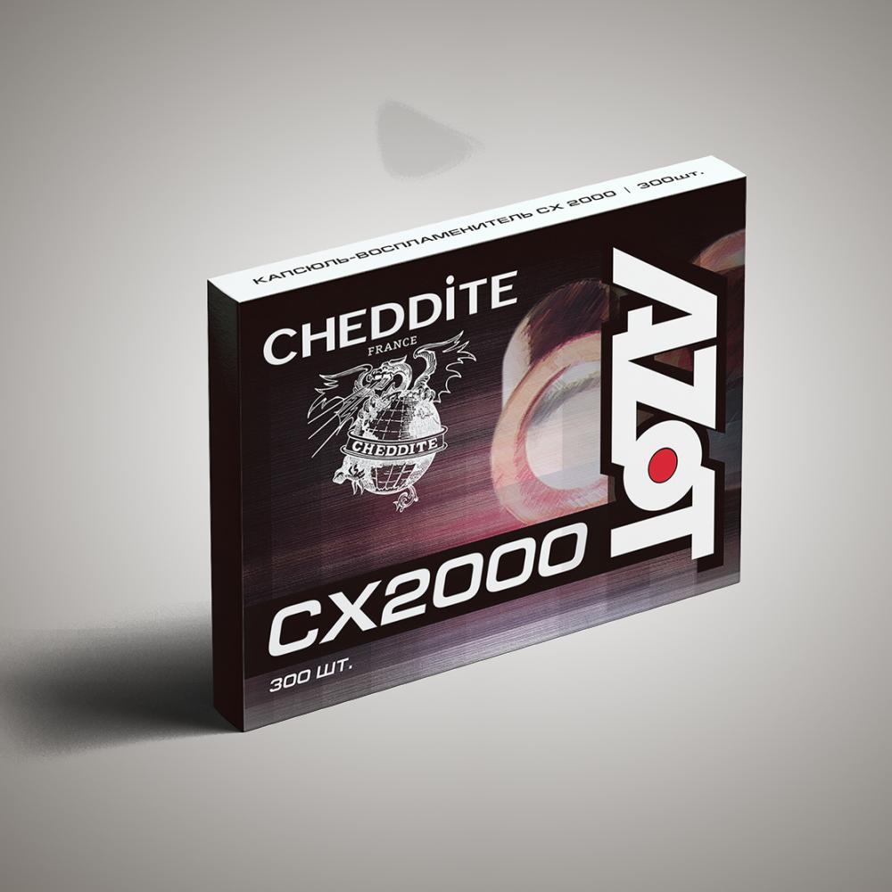 Capsule Cheddite CX2000